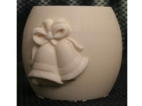 Wedding Bells Fondant Candle Mold