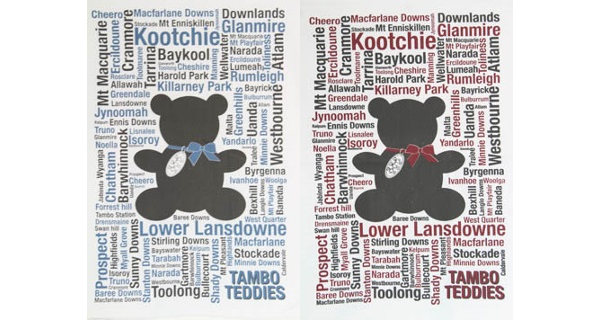 Tambo Teddy Tea Towels