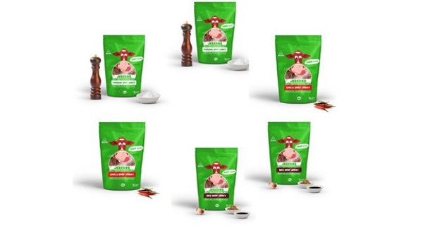JEEERKS Mixed Beef Jerky 50 gm Packs