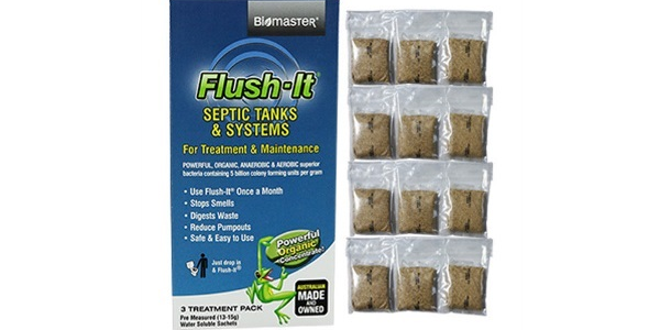 Biomaster – Flush-It® 12-Month Supply – Septic Tank Treatment Product
