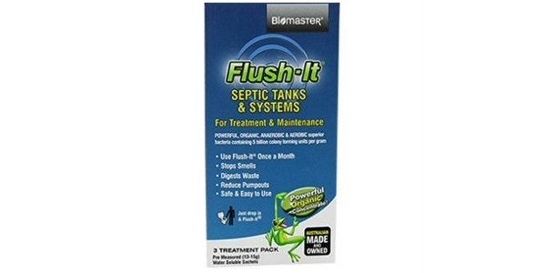 Biomaster – Flush-It® 3-Month Supply Septic Tank Treatment Product