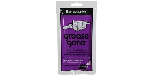 Biomaster – Grease Gone® 2-Pack – Grease Trap Treatment Product