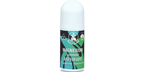 Natural Aid Pty Ltd – Just for Guys Magnesium Roll On Deodorant – 50 mL