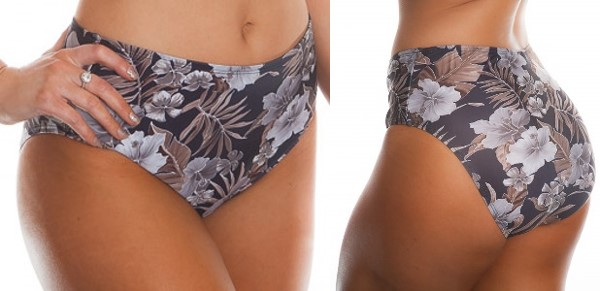 boobah Swimwear – High Waist Retro Pant
