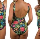 boobah Swimwear – Square Neck One Piece