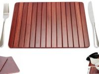 Australian Woodwork - Jarrah Roll-Up Placemats