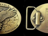 Wedge Tail Eagle Belt Buckle