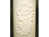 Floral Fondant Candle Mold