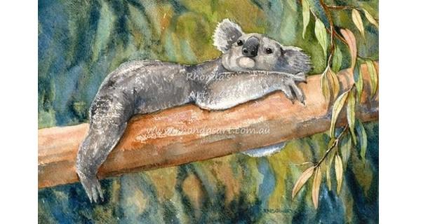 Rhonda's Art – Koala 1