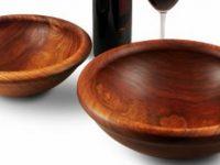 Australian Woodwork - Turned Blackwood Salad Bowl
