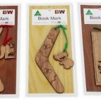 Australian Woodwork – Australian Animal Bookmarks (Set of 3)