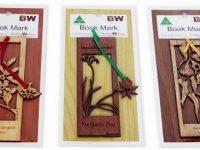 Australian Woodwork - Australian Wildflower Bookmarks (Set of 3)