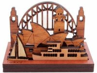 Australian Woodwork - Mini Sydneyscape