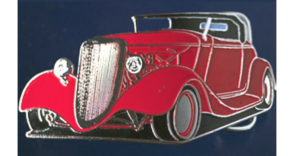 '33 Ford Roadster Buckle