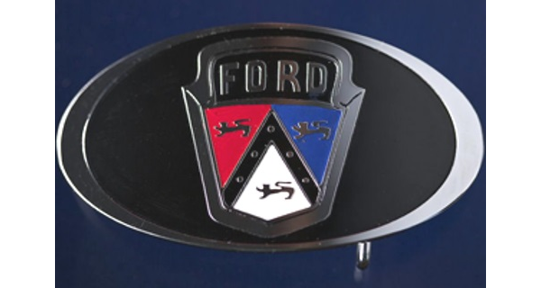'51 to '57 Ford Crest Buckle