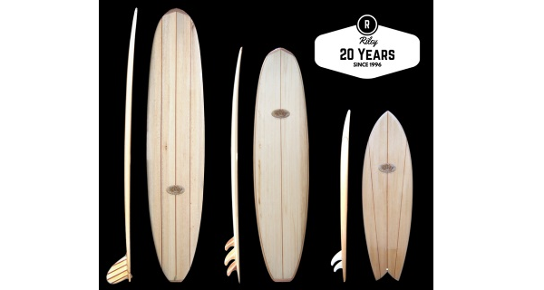 Riley Balsa Wood Surfboards