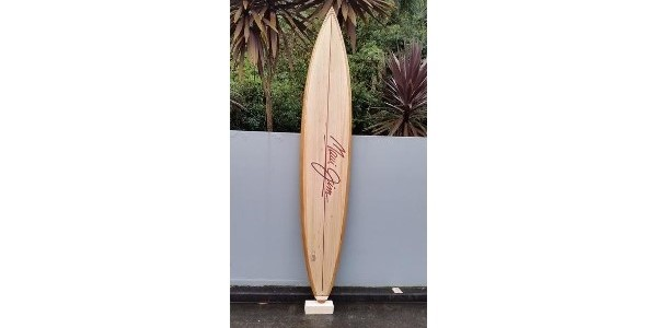 Riley Balsa Wood Surfboards – Solid Balsa Hawaiian Gun