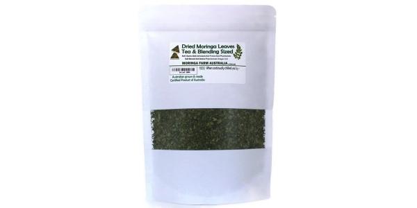 Moringa Health & Beauty – Dried Leaves 100 gm Tea/Blending sized – Made To Order