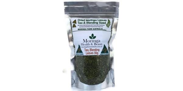 Moringa Health & Beauty – Dried Leaves 30 gm Tea/Blending sized – Made To Order