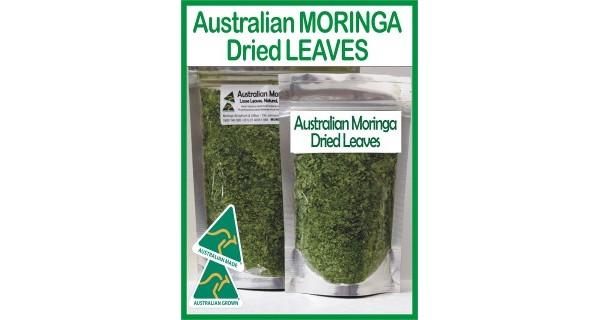 Moringa Health & Beauty – Dried Leaves 250 gm Tea/Blending sized – Made To Order