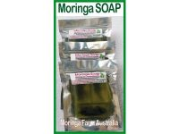 Moringa Soap 100 gm - Moringa Seed Oil & Ground Leaf Prep