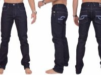 VIGGOR - Maverick – Electric Blue Men's Jeans (Slim Straight)