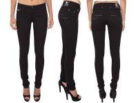 VIGGOR - Novacane – Black Women's Jeans (Skinny Mid Rise)