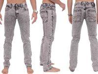 VIGGOR - Staccato – Black Acid Men's Jeans (Skinny)