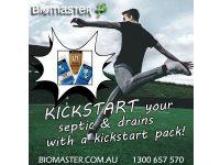Biomaster - Flush-It - Kickstart Septic Pack - Septic Tank Treatment Product