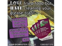 Biomaster - Grease Gone® 2-Pack - Grease Trap Treatment Product