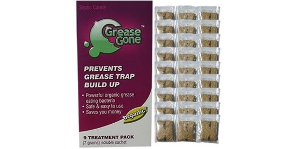 Biomaster – Grease Gone® 27-Pack – Grease Trap Treatment Product