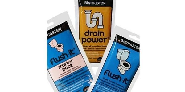 Biomaster – Flush-It – Kickstart Septic Pack – Septic Tank Treatment Product