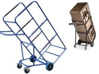 Custom Trolleys Australia - CT-Trestle  Table Moving Trolley