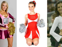 Camille Wolfe design - Cheer-leading Costumes