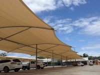 Skyspan Umbrellas - Car Park Shade Structures