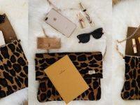 UGG Since 1974 - Sahara Clutch Designer Leopard