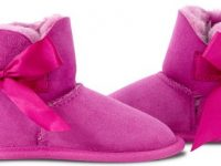 UGG Since 1974 - Toddler Ugg Bow Suede Sole