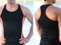 Aussie Togs – Men's Muscle Top Singlet Two Colour