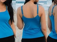 boobah Swimwear – Mastectomy Clothing – Singlet Top Single Strap