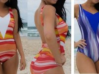 boobah Swimwear – V Front One Piece