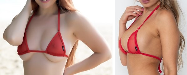 sunbabe Swimwear – Mesh Micro Slide-able Triangle Top
