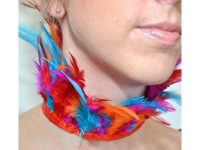 Camille Wolfe design – 1404 Feathered Neck Collar