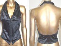Camille Wolfe design - 728 Halterneck Vest