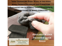 Aussie Furniture Care - 0000 Super Fine Steel Wool