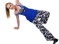 Camille Wolfe design - JH075 Cammo Hip Hop