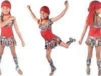 Camille Wolfe design - JH081 Graffiti Dress