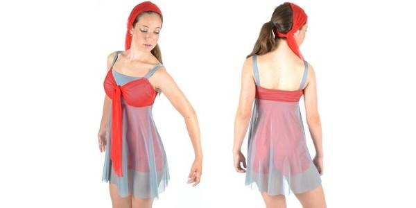 Camille Wolfe design – LH070 Red Tie