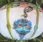 Emu Essence – Painted Emu Egg