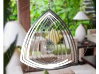 Aussie Spinners – Designer Contempo Collection - Crystal Curved Triangle
