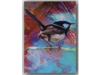 Aussie Spinners – Tea Towel - Blue Wren